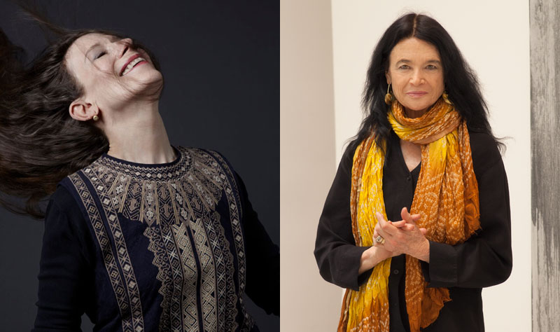 Meredith Monk and Anne Waldman