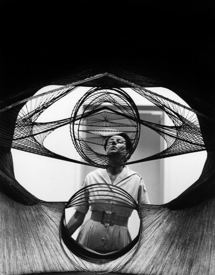 Film still of Peggy Guggenheim