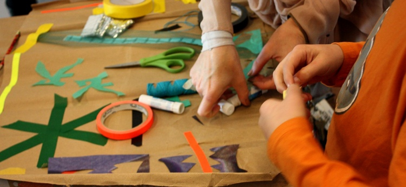 Play date artmaking