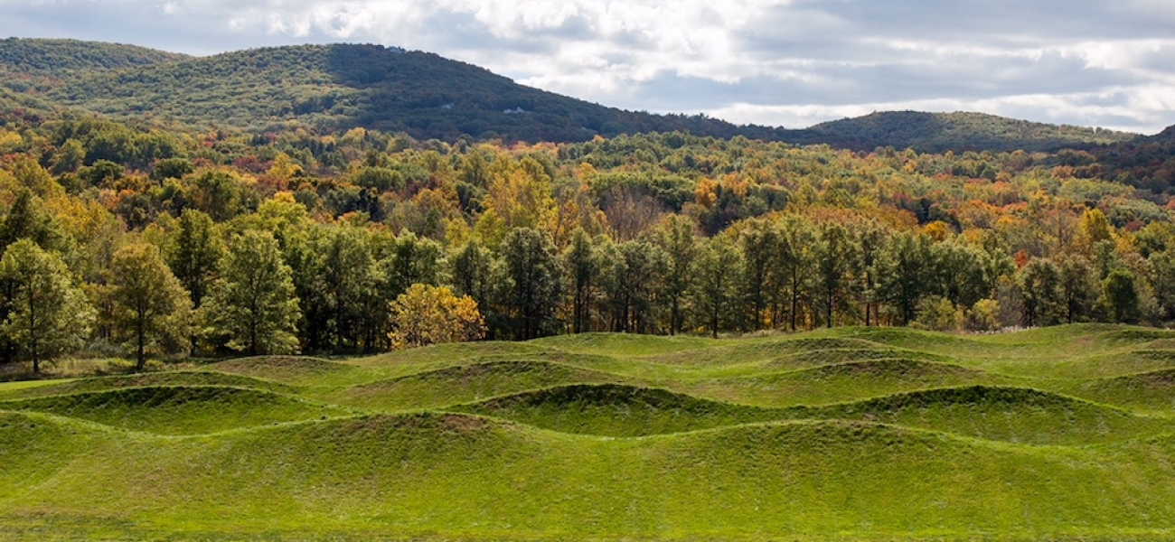 Landscape artwork at Storm King