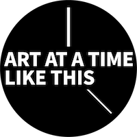 "Logo for ""Art at a Time Like This"""