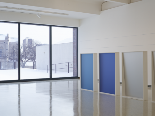 Installation view, Liz Deschenes: Gallery 7, Walker Art Center, Minneapolis (2014).
