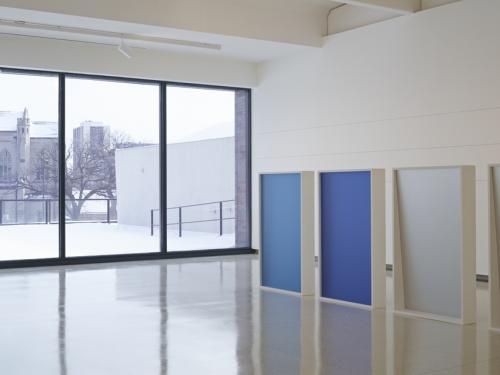 Installation view, Liz Deschenes: Gallery 7, Walker Art Center, Minneapolis (2014).