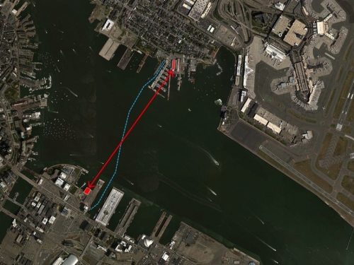 Path from ICA to East Boston