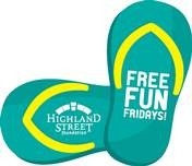 Summer Friday Fun Highland Street Logo