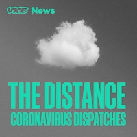 "Logo for ""The Distance: Coronavirus dispatches"""