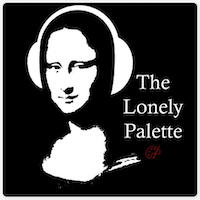 "Logo for ""The Lonely Palette"""