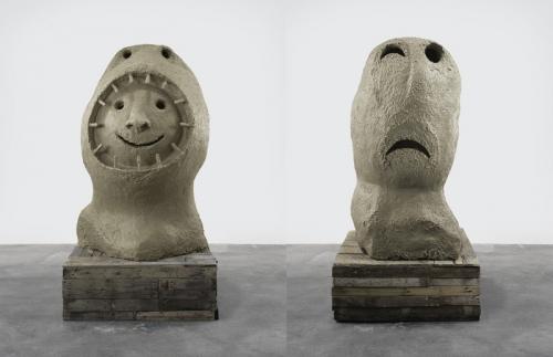 Ugo Rondinone sculptures