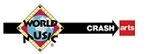 WorldMusic CrashArts logo