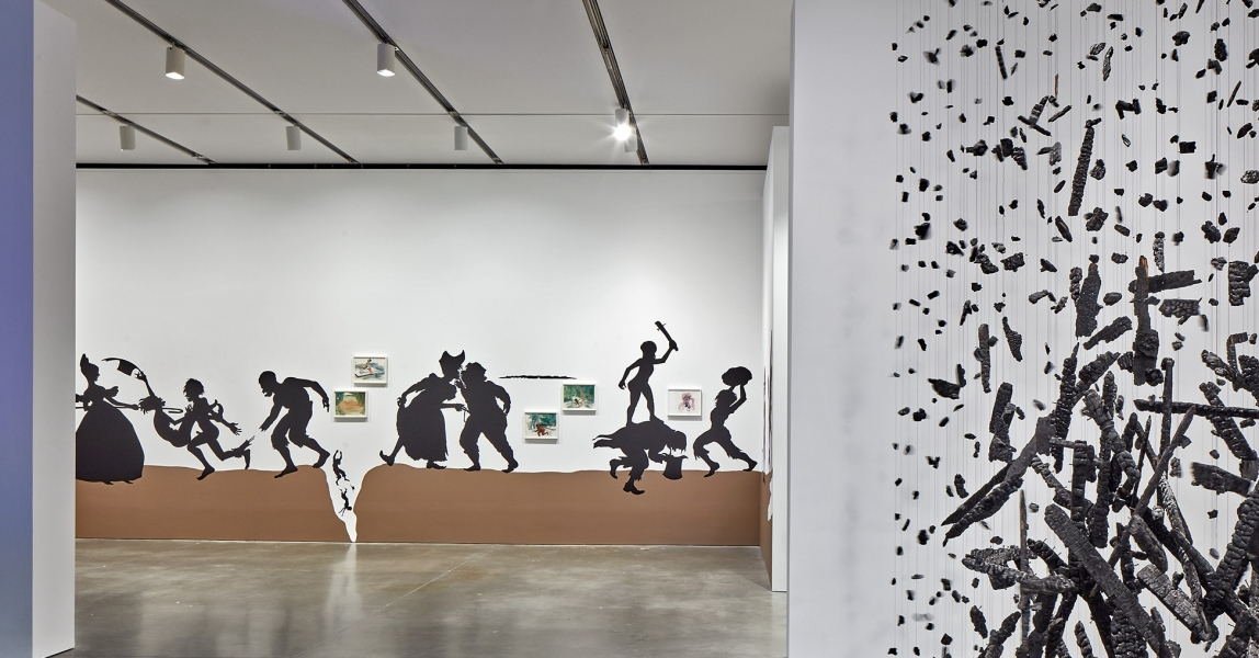 Installation view, First Light: A Decade of Collecting at the ICA