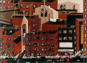Jacob Lawrence, Harlem