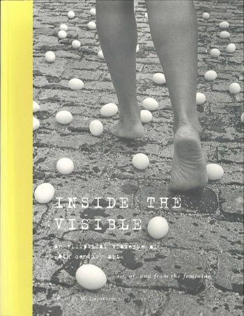 Inside the Visible catalogue cover, 1996