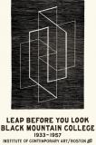 Leap Before You Look Poster from ICA store
