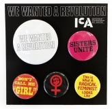 We Wanted a Revolution decorative pins
