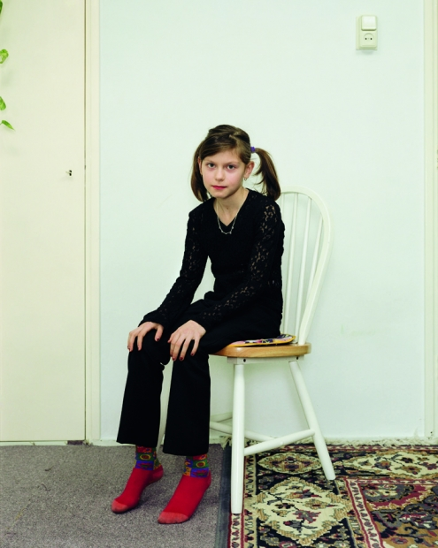 "Rineke Dijkstra ""Almerisa, Wormer, The Netherlands, February 21, 1998"""