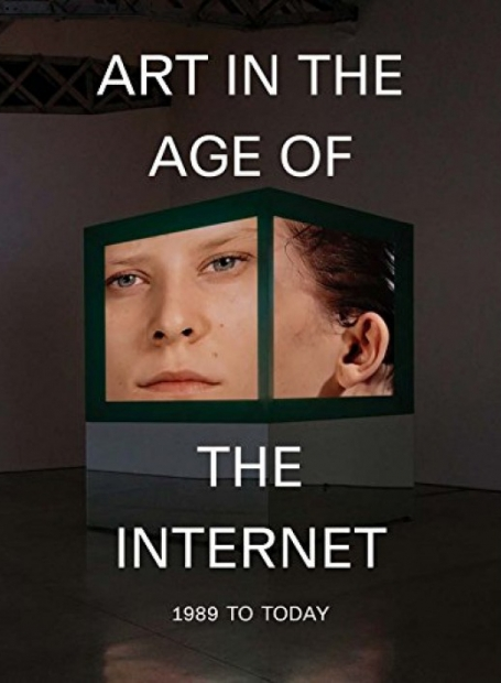 The cover of Art in the Age of the Internet catalogue.