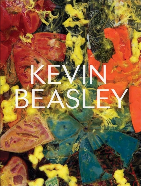 The cover of Kevin Beasley illustrated with a close up view of his sculpture.