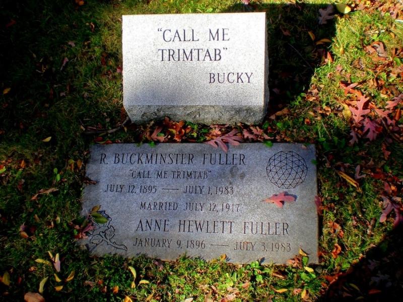 Bucky Fuller Gravestone