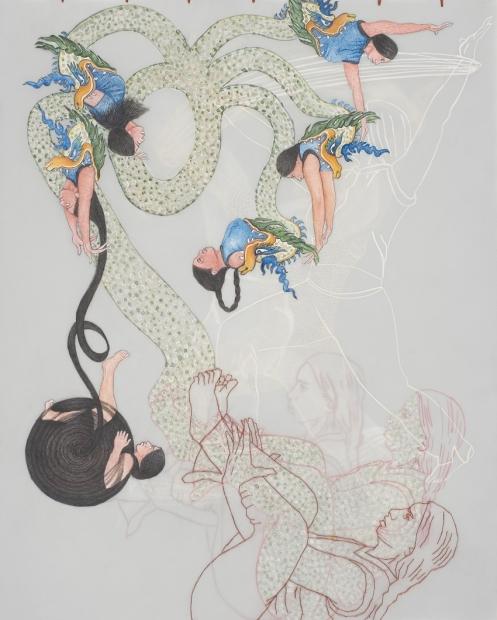 Ambreen Butt Multiplicité, from the Cirque du Monde series