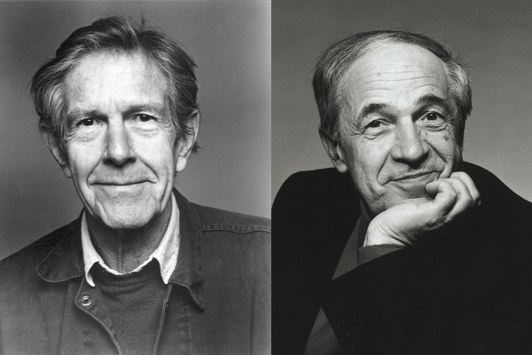 John Cage and Pierre Boulez