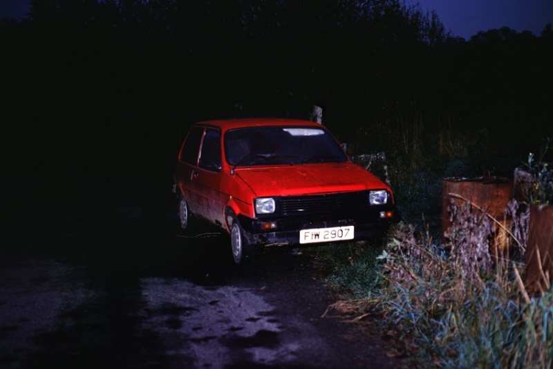 Willie Doherty, Suspicious Vehicle, 1995