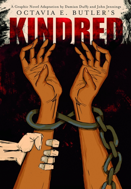"Graphic Novel ""Kindred"" Book cover"