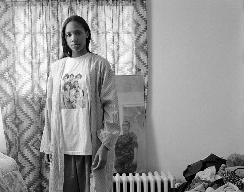 LaToya Ruby Frazier Huxtables, Mom, and Me, from The Notion of Family series, 2008