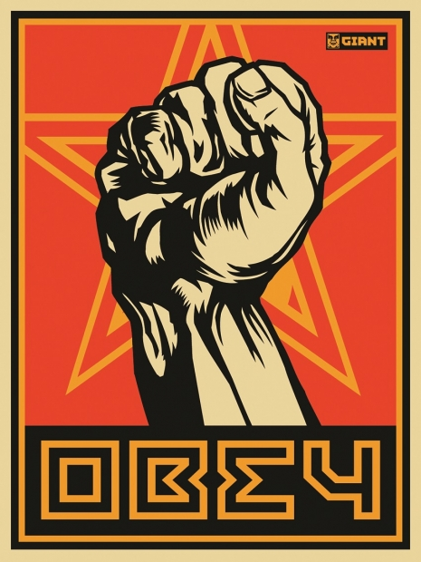 "Shepard Fairey ""OBEY Fist,"" 2000"