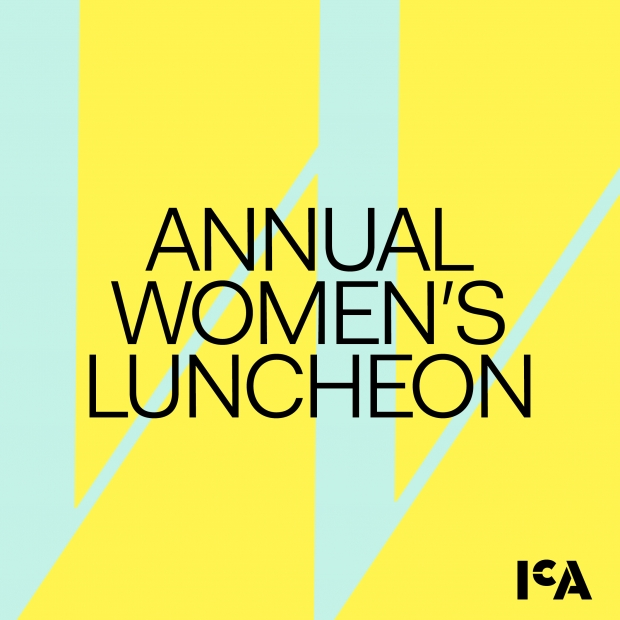 Women's luncheon save the date graphic