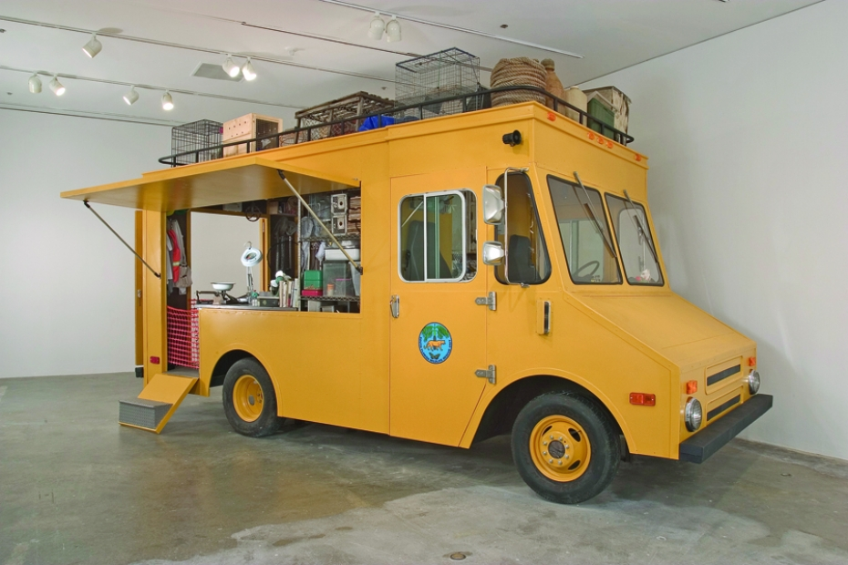 Mark Dion, South Florida Wildlife Rescue: Mobile Laboratory, 2006
