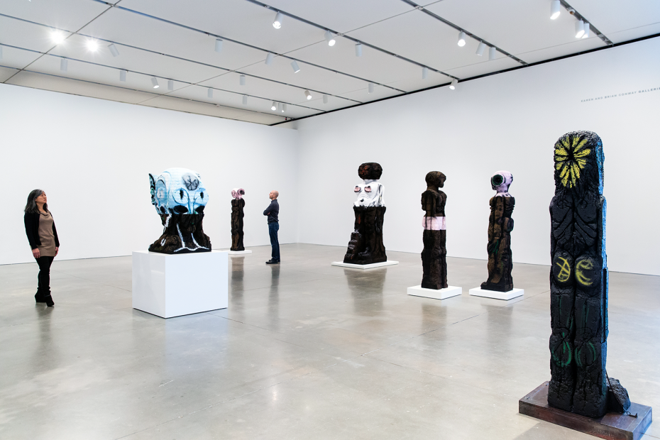 Huma Bhabha: They Live | icaboston org