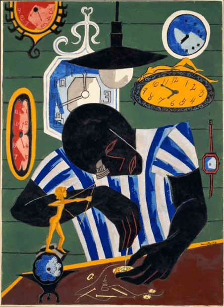 Jacob Lawrence, Watchmaker, 1946