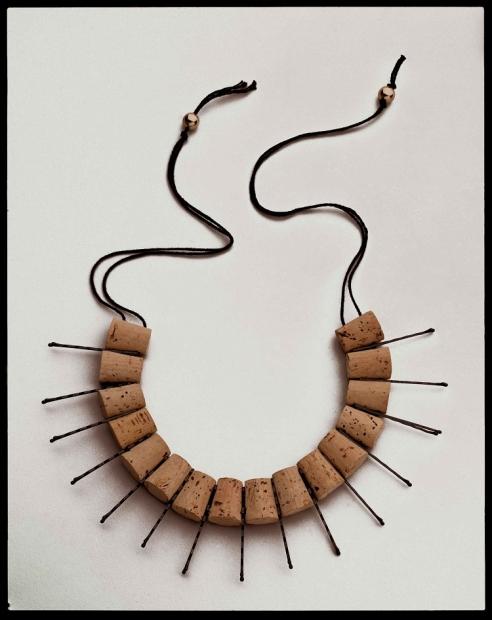 Anni Albers and Alexander Reed, Neck Piece,1940/1988