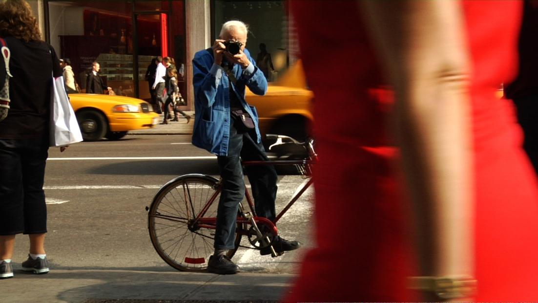 Still from Bill Cunningham New York