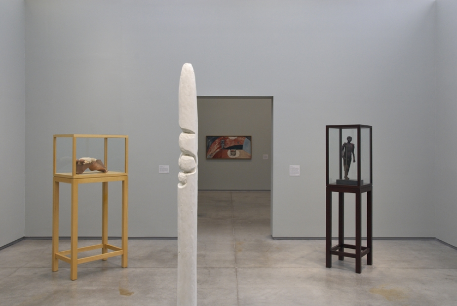 Installation view, Bourgeois in Boston, the Institute of Contemporary Art/Boston, 2007–08.