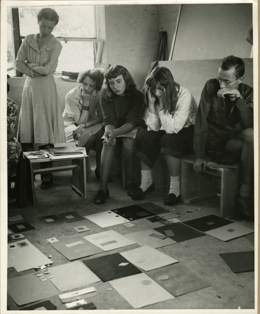 Black Mountain College, Albers Color Theory Class