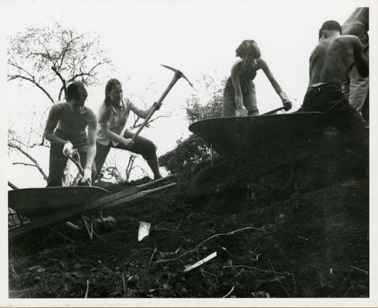 Black Mountain College, Student Construction