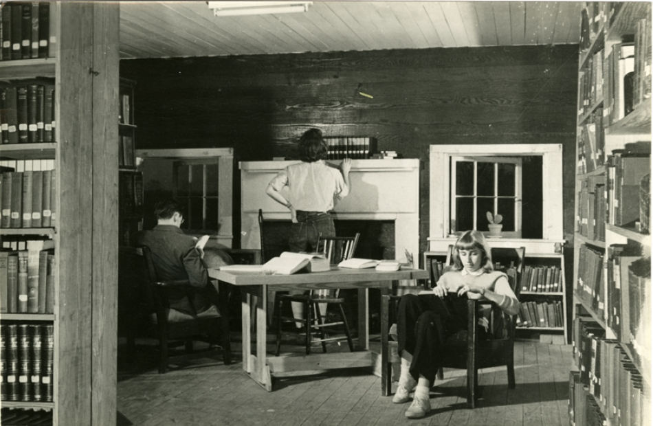 Black Mountain College, Students reading
