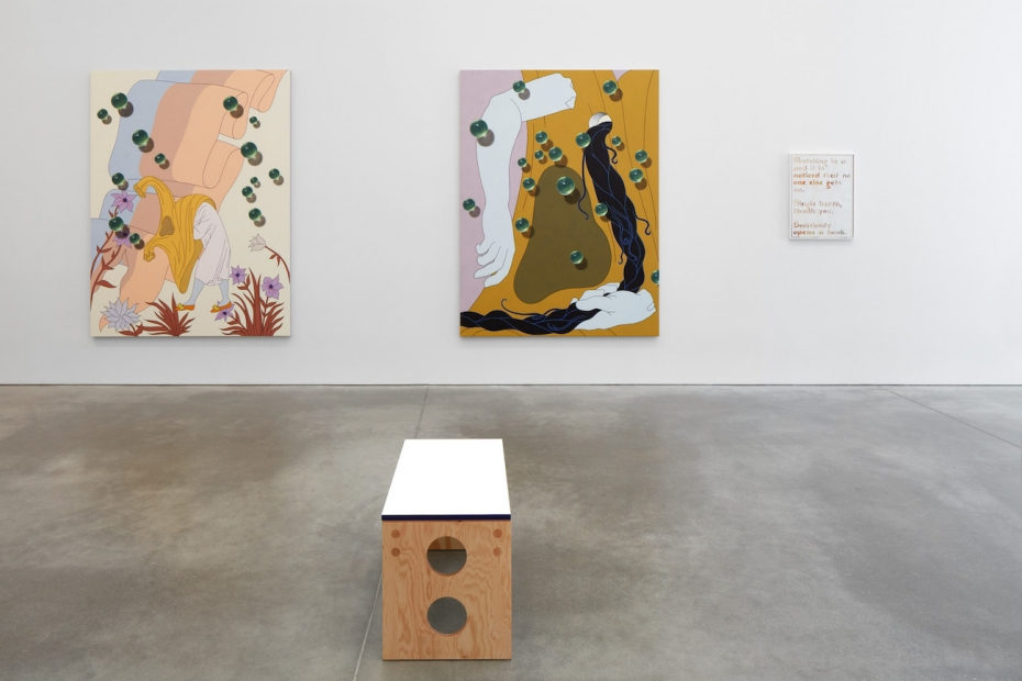 Installation view, Caitlin Keogh: Blank Melody