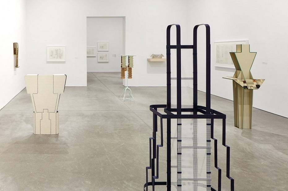 Installation view, Diane Simpson, Institute of Contemporary Art, Boston, 2015