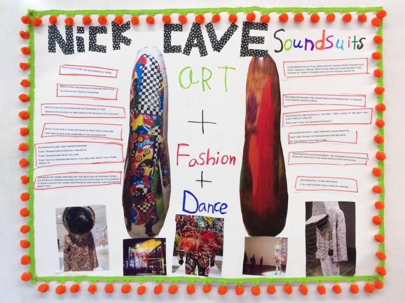 An ICA fan's school project about Nick Cave