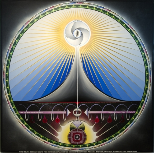 Paul Laffoley, The Visionary Point, 1970