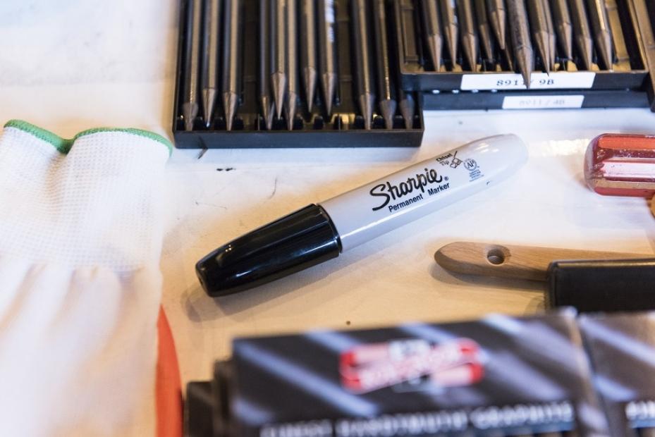 Ethan Murrow Sharpie marker