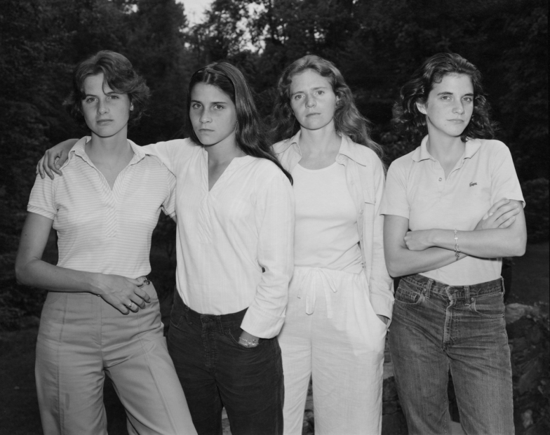 Nicholas Nixon, The Brown Sisters, New Canaan, Connecticut, 1975