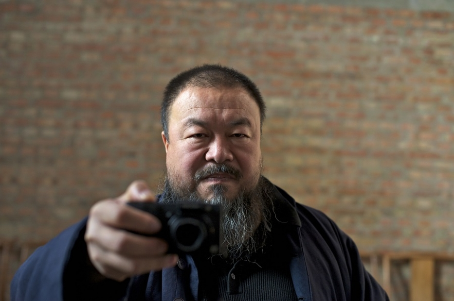 Ai Weiwei in a scene from Alison Klayman's AI WEIWEI: NEVER SORRY