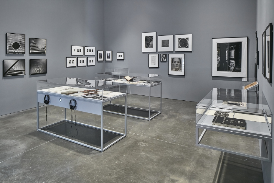 Installation view of The Artist's Museum exhibition