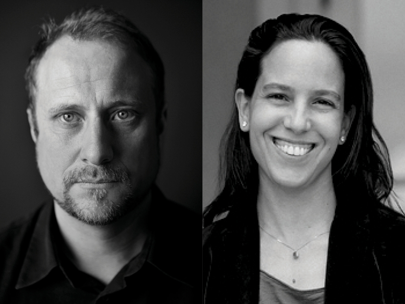 headshots of Trevor Paglen and Jimena Canales