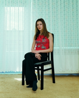 "Rineke Dijkstra ""Almerisa, Leidschendam, The Netherlands, April 13, 2002"""