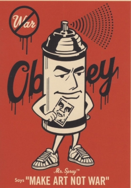 "Shepard Fairey ""Mr. Spray,"" 2004"
