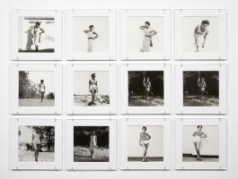 "Lorna Simpson ""May June July August '57 / '09,"" 2009"